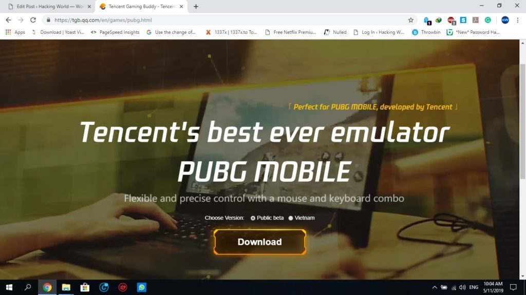 PUBG mobile Bypass Emulator Detection TGB & LD Player 2019 latest update