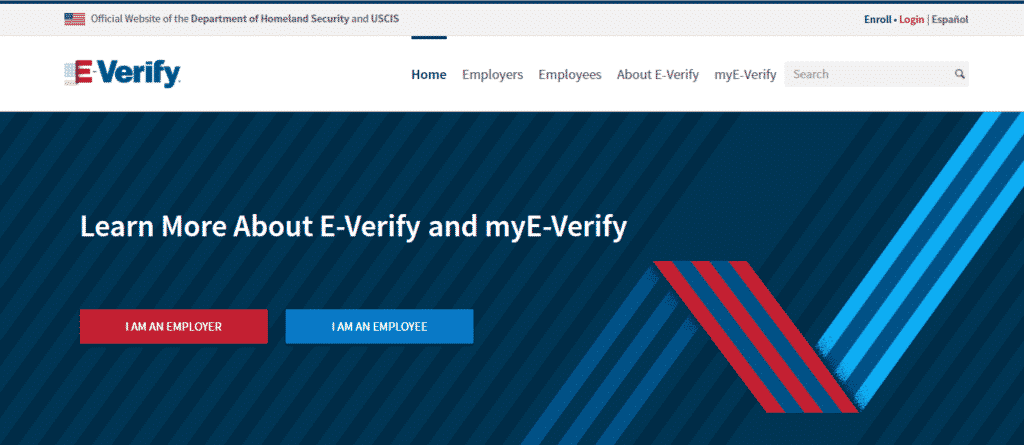 E- Verify- us-based people search website