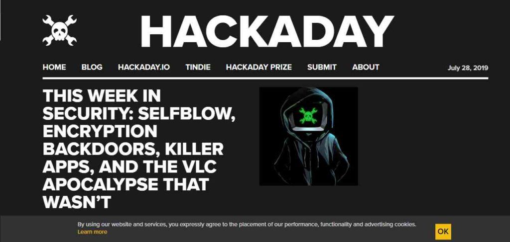 Hack a Day- Websites to Learn Hacking