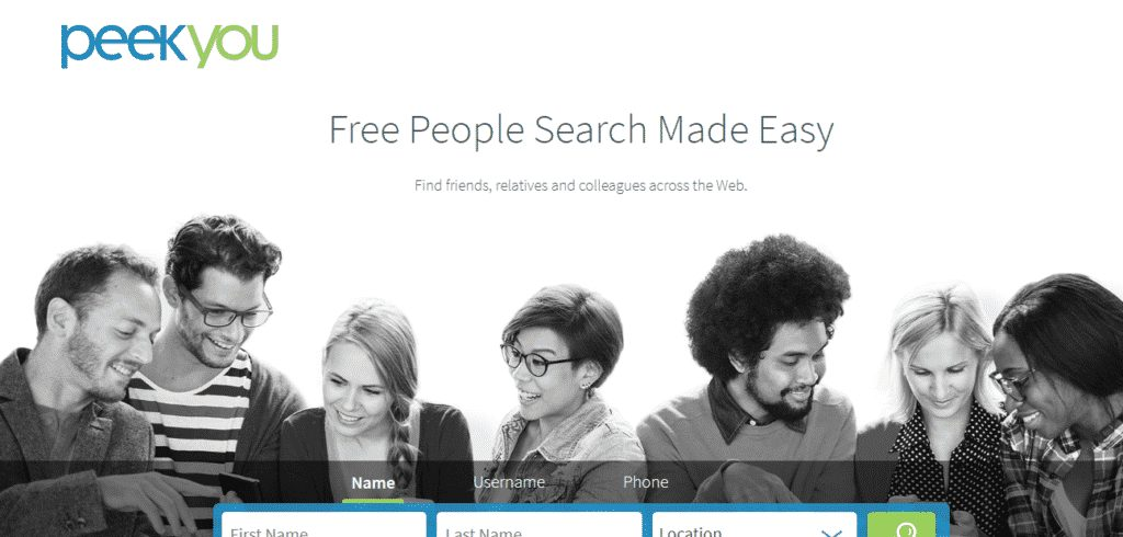 Peek You- get personal information on anyone