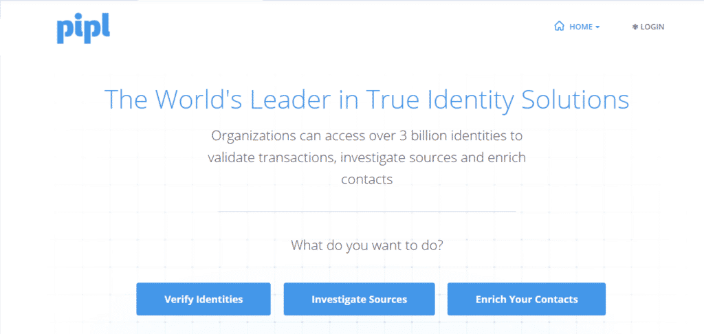 Pipl- get personal information