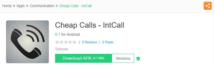 IntCall- spoofing apps