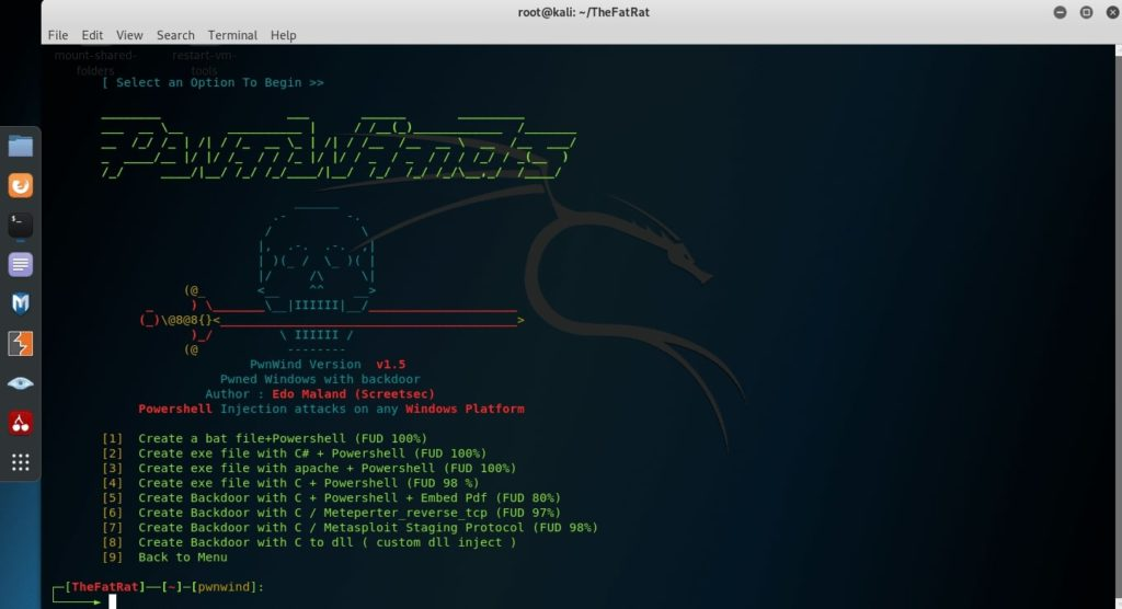 how to hack windows 10 with FATRAT