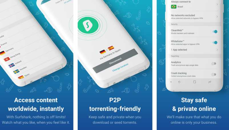 Shark Surf - Applications VPN Android