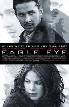 Eagle Eye- One of the Best hacking movies