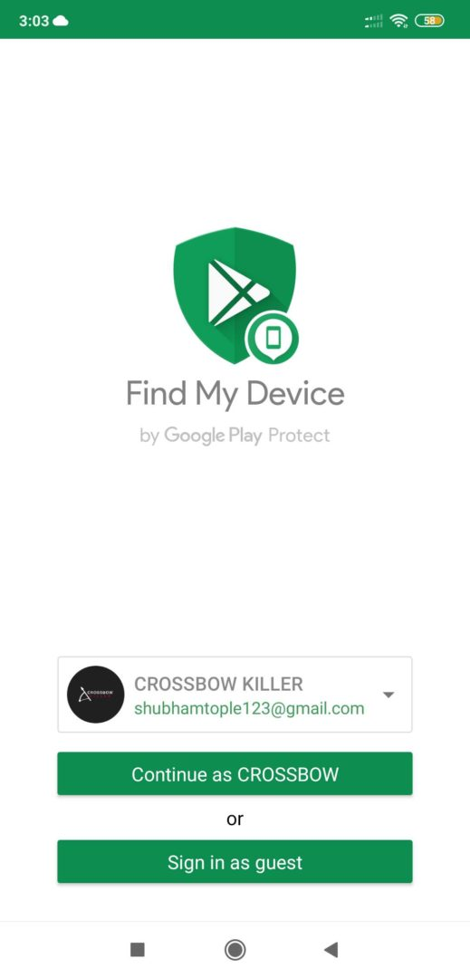 Find My Device App to Track Phone