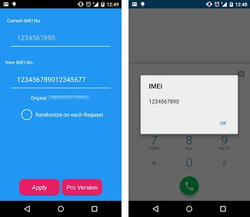 Xposed Imei changer app: Change IMEI Number using App