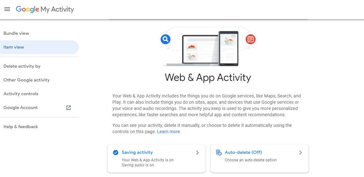 Recover Deleted browser History Web & App Activity