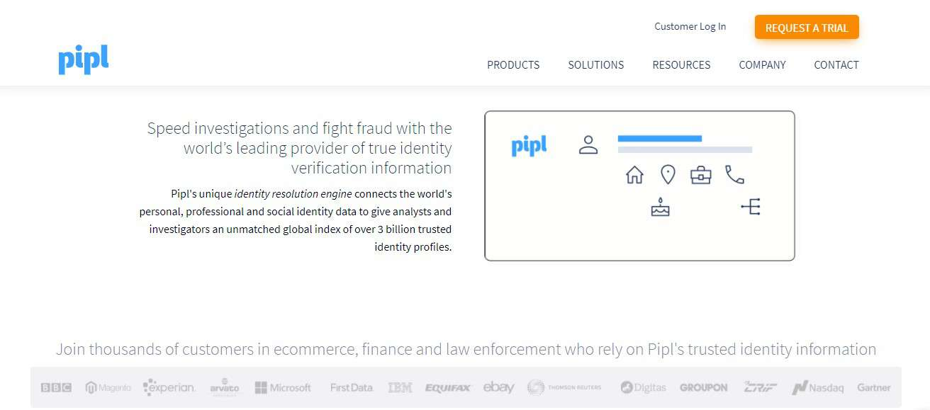 PIPL- Internet Search Engine